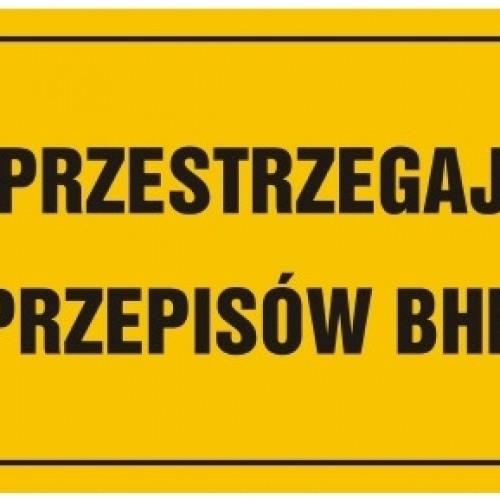 Podstawy prawne i prawidłowe stosowanie znaków BHP